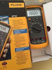 Fluke 87V True RMS Digital Multimeter. Made In USA & Manufactured in 2016