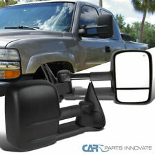 99-02 Silverado Sierra 1500 2500 3500 Pickup Power Heat Extending Towing Mirrors