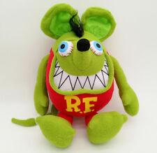 "RAT FINK green stuffed plush toy 12""new"
