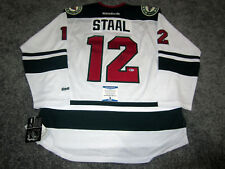ERIC STAAL Minnesota Wild SIGNED Autographed JERSEY w/ BAS COA New Large