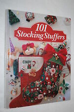 101 Stocking Stuffers (1994, Hardcover) CRAFTS Embroidery CROSS STITCH Quilting