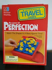 MB GAMES - PERFECTION - Travel Edition Family Fun 100% Complete Boxed