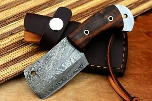 MH KNIVES CUSTOM HANDMADE DAMASCUS STEEL FULL TANG HUNTING/SKINNER KNIFE MH-305