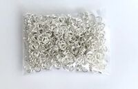 500 pcs Silver Plated Closed Jump Rings 6mm Jewelry Ring Making Findings Craft T