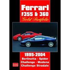 FERRARI F355 & 360 ORO PORTFOLIO 1995-2004 BOOK LIBRO