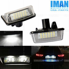 2× Error Free LED Number License Plate Lights Lamp For Toyota Corolla 1997-2006