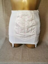 GIRDLE OPEN BOTTOM WHITE BY TWILFIT SIZE S /# 703