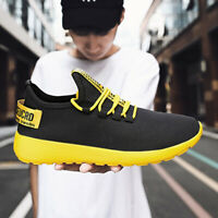 Men's Sports Running Shoes Casual Breathable Mesh Walking Sneakers Jogging Gym