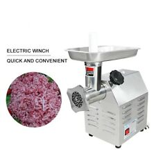 Commercial Grade Electric Meat Grinder 750W Stainless Steel Heavy Duty