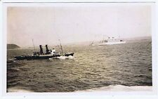 SS DUILIO Italian Passenger Liner - Vintage Photograph c1930s