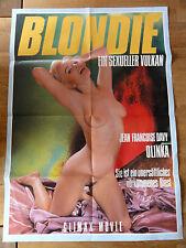 Erotik Kinoplakat ** BLONDIE - EIN SEXUELLER VULKAN Olinka Hardiman