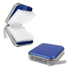 New Portable 40 Disc CD DVD Holder Storage Organizer Case Bag Album Wallet Box