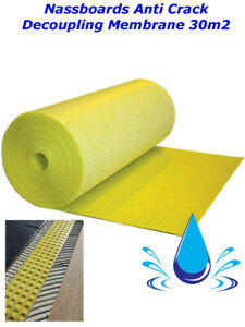 Decoupling Membrane Matting 5m to 30m2 Anti Crack, Waterproof Roll, Plastic Ply