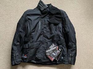 Halvarssons Wien Motorcycle Jacket Black 58
