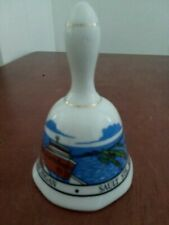 Michigan Sault Ste. Marie collectible bell small nautical picture good condition