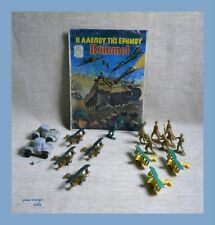 Rommel DESERT FOX LotX7 Airplanes+Toy Soldiers+Picture New GREECE PLASTIC GREEK