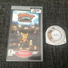 Ratchet and Clank: Size Matters - Sony PSP - Pal - Platinum Version - No Manual
