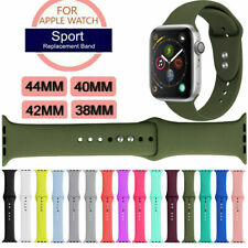Silicone Band Strap For Apple Watch iWatch Sports Series 1/2/3/4/5 38/42/40/44mm