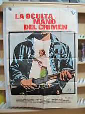 A2818  LA OCULTA MANO DEL CRIMEN. JIM MITCHUM, KAREN LAMM, ANNE ARCHER