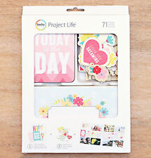 Project Life NOTE TO SELF VALUE KIT (71) PCS scrapbooking 380414