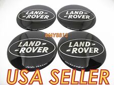 NEW LAND ROVER BLACK WHEEL 65MM RIM CENTER CAP STICKER DECAL DISCOVERY LR3 LR4