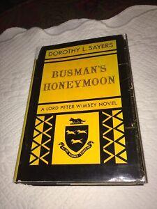 1st - Dorothy L. Sayers - Busman's Honeymoon - HC DJ in protector 1937