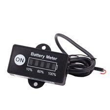 LED Digital battery status Charge Indicator Monitor Battery meter 12V / 24V O4P6