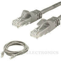 75ft feet RJ45 CAT5 CAT5E Ethernet LAN Network Cable Patch Cord (GREY)