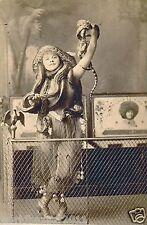Victoriano curiosidad Serpiente Chica reptil Circo Sideshow Freakshow Freak Show