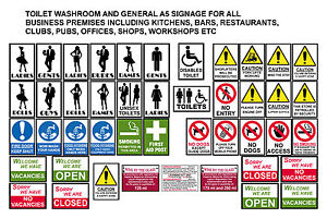 HEALTH SAFETY POSTERS SIGNS FOR BAR RESTAURANTS PUBS CLUBS KITCHENS WORKPLACE