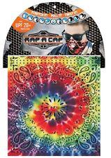 Capsmith Rainbow Rap A Cap Tie Tye Dye Paisley Multi Function Headwear Biker