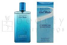 Cool Water Caribbean Summer Edition by Davidoff 4.2oz/125ml EDT Spray NIB Sealed