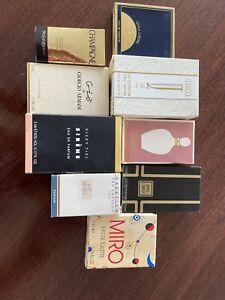vintage miniature perfume bottles lot