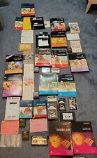 Atari Computer 400/800/1200 XL/XE 12x game lot Cib Pac man Donkey kong and more