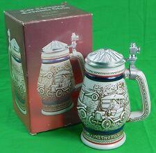 Vintage 1979 Porcelain Hand Crafted in Brazil Avon Car Classics Beer Stein Mug