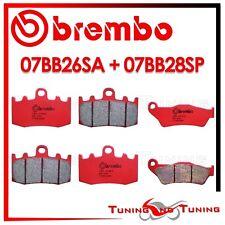 Pastiglie Freno BREMBO Anteriori SA + Posteriori SP BMW R 1200 GS ABS 2011 2012