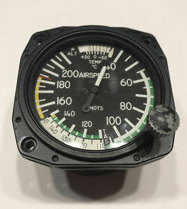 FALCON GAUGE TRUE AIRSPEED INDICATOR M/N: ASIT260MK - Used