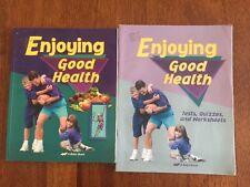 Abeka Enjoying Good Health Text Tests Quizzes Worksheets Grade 5