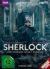 Bluray ,Sherlock -Staffel 4 (2017),Sherlock Holmes,neu und orginalverpackt