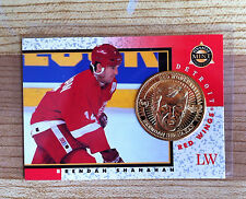 1997 1998 Pinnacle Mint  BRENDAN SHANAHAN    gold plate coin    Free s/h