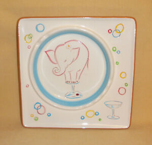 Rare Mid Century Iconic Stangle Ashtray - Pink Elephant 39159