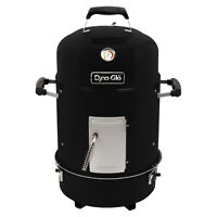 Compact Portable Charcoal Bullet Smoker Cooker Grill Pit BBQ Tailgate Camping