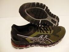 Asics men's gel quantum 360 knit running shoes black martini olive size 13 us