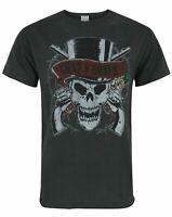 Amplified Guns N Roses Deaths Head Men's T-Shirt