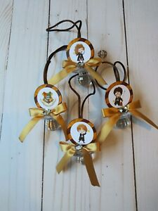 12 Harry Potter Hogwarts Baby Shower Pacifier Necklaces Favors