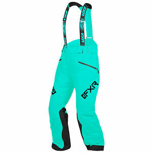 FXR Mint Womens Fresh Pants HydrX F.A.S.T Thermal Flex Insulated Snowmobile