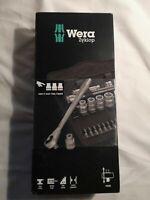 Wera Zyklop Metal-Push Ratchet & Socket Set of 29 Metric 3/8in Drive