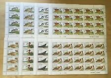 FULL Sheets Sierra Leone 1990 1233-40 - Birds - Set of Sheets - MNH