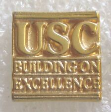 University of Southern California USC - Building on Excellence Souvenir Pin
