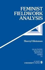 Feminist Fieldwork Analysis (Qualitative Research Methods), Kleinman, Sherryl, G